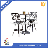 2015 popular Durable metal furniture Patio Furniture, used patio furniture