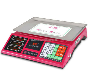 Electronic Price computing scale DY-968-A