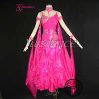 Pink Korean silk New Fashion Dance Costume For Christmas B-09240