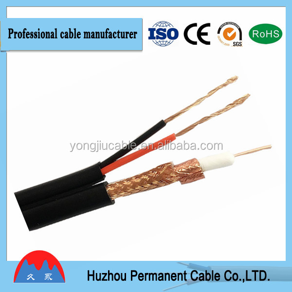 High Quality Wholesale CCTV RG6 Coaxial Cable , Manufacturer cable suppler