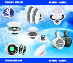 Subwoofer waterproof marine boat stereo speakers /ceiling speaker system