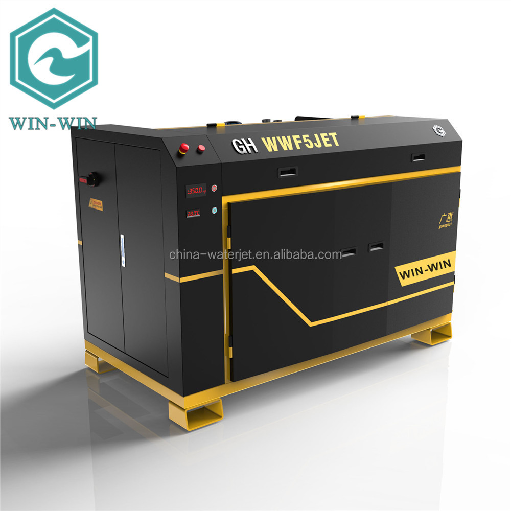 New model five axis CNC flow max waterjet cutting machine