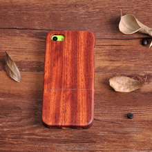 Fast shipping wood phone case for iPhone 5C, fashion case, simple luxury case