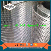 Perforated metal mesh for auto filters