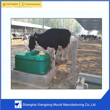 customized rotational molding cattle water trough