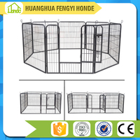 8 Panels Fabric Pet Playpen Cage