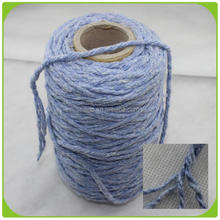 Nm 3.4 cotton open end yarn mill glitter cotton yarn for knitting cotton yarn agent in china