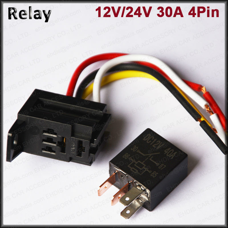 12v time delay relay / waterproof automotive relay /5 pin auto relay socket