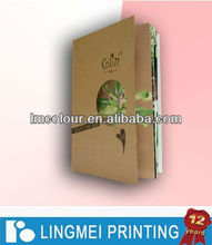 2013 Skin Care Products Booklet Printing in Guangzhou