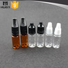 10ml/15ml/20ml/30ml/50ml Wholesale Glass PET PP different material smoke e-liquid dropper bottles with child proof dropper cap