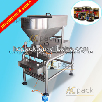 Double-head Semi-automatic Sauce Filling Machine