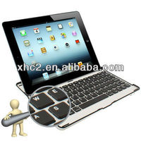 Perfect Design Mobile Bluetooth 3.0 ABS Hard Keyboard for New iPad (iPad 3) / iPad 2 (Black)