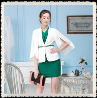 High Quality White Fancy Fashion Women Blazers Coat