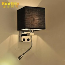 The Newest Product Contemporary Modern Fabric Wall Light