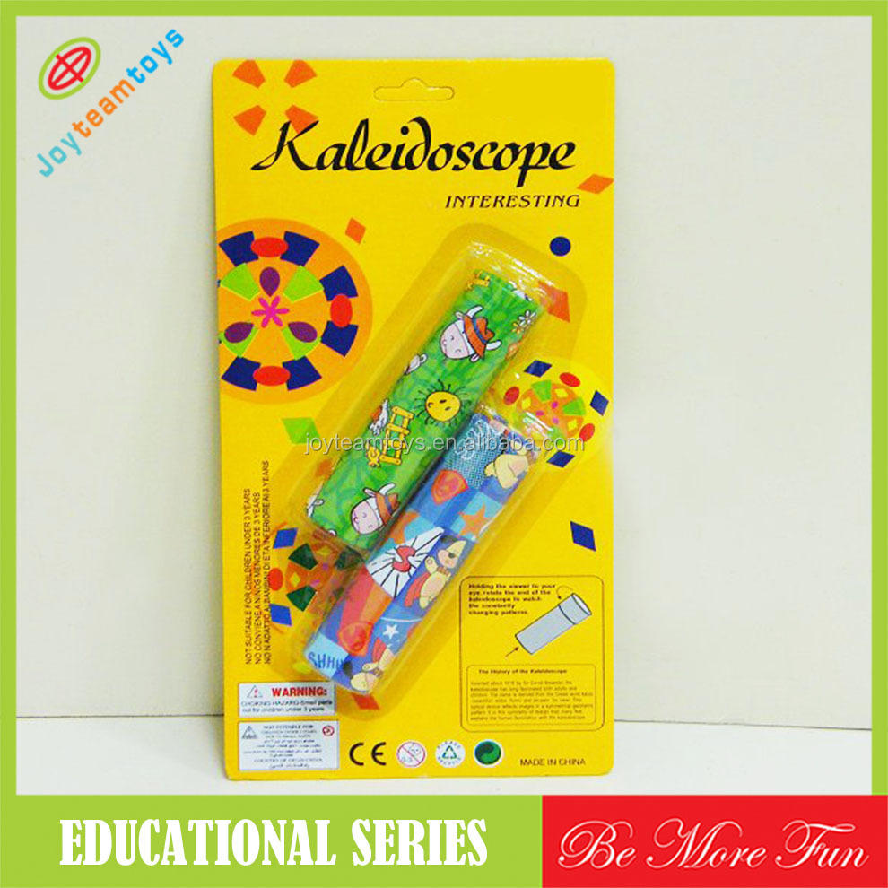 Durable tin kaleidoscope toys Electric kids toys