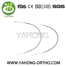 Manufacturer Super-Elastic /Thermal Activated/Reverse Curve NITI orthodontic Arch wires