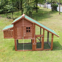 Big Chinese Fir Wooden Chicken Coop