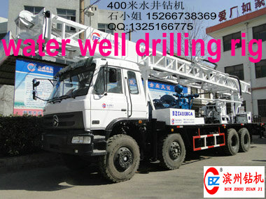Excellent performance!! BZC400BCA truck mounted water well drilling rig famouns in Africa