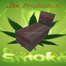 FSC Custom Smoking Rolling Paper Cigarette OEM Pure Hemp Unbleached Brown Rice Tobacco Hand Rolling Paper