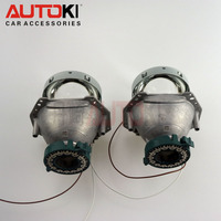 Autoki top quality 3 year warranty high bright HELL A 5 bi-xenon projector lens light D2S H4 headlight