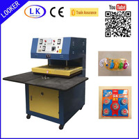 PVC PET Plastic Blister heat Sealer heat sealing machine