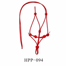 Horse equipment Rope Knotted Halter