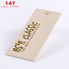 New Arrival Garment Stamping Printing Hang Tags Design For Socks