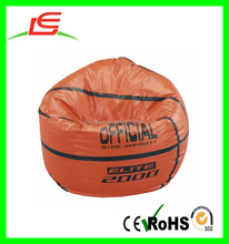 LE B0301 wholesale customized print plush basketball bean bag chair