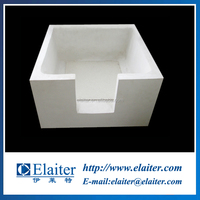 Aluminum silicate filter box & strum tank for aluminium casting parts