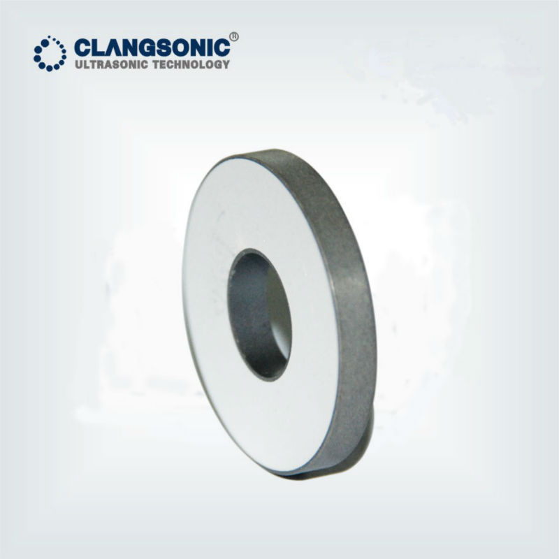 ultrasonic plate ceramic piezo ring used in ultrasonic transducers high efficiency low heat