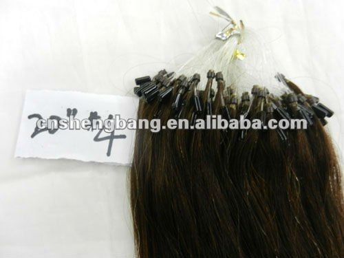 Good quality! Natural Real Human hair pre-bonded hair for hair extension