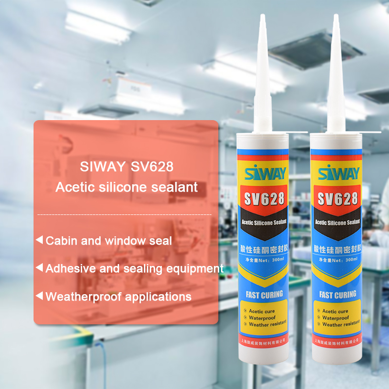quick drying acetic silicone sealant for window