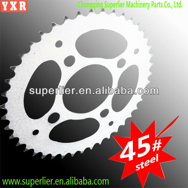 favourable price industrial motorcycle chain sprocket set