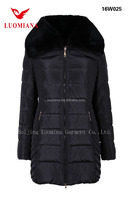 womens parka jackets for winter rabbit collar clothes