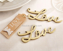 Love Antique Gold Bottle Opener <strong>Wedding</strong> favors gift for <strong>wedding</strong> guests favor