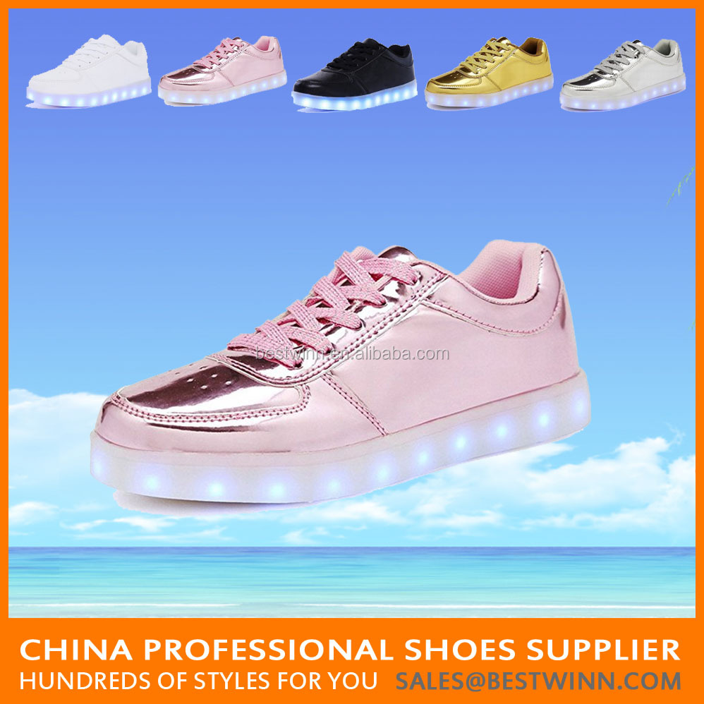 12 years factory Sneakers adults led shoes