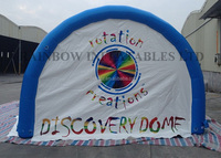 Rainbow Customized Advertising 0.6mm PVC Tarpaulin Inflatable Tents For Sale
