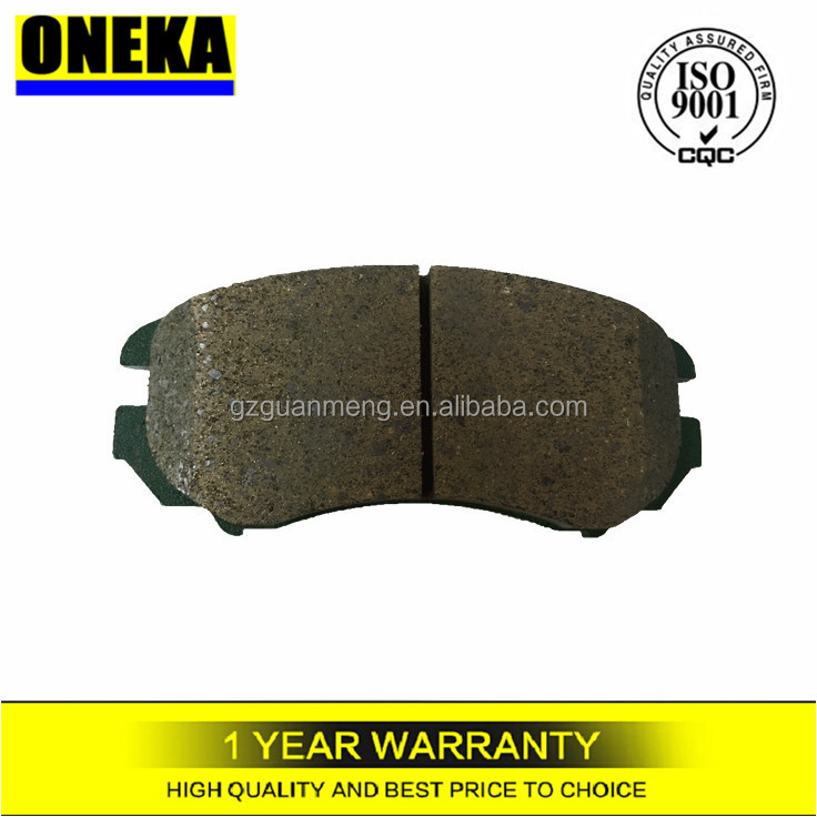 [ONEKA]Auto spare parts brake pads 1029F for Hyundai Korean cars