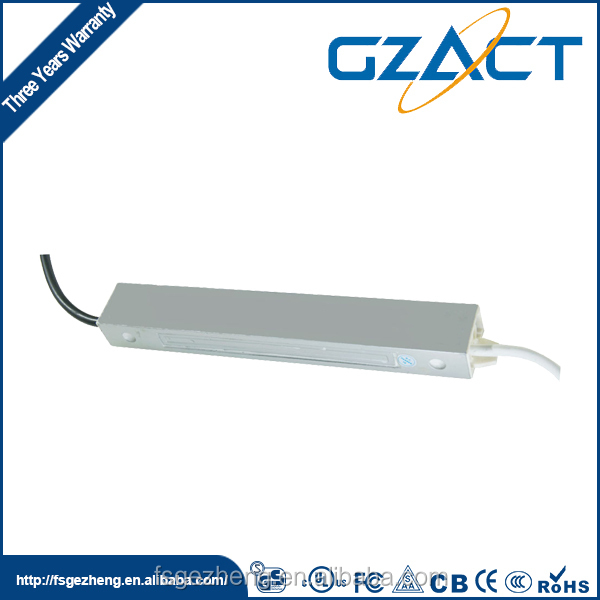 IP67 waterproof electronic dimmable led driver 30W 24V