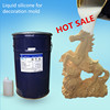 Hot sale liquid silicone with hardener for making horse mold