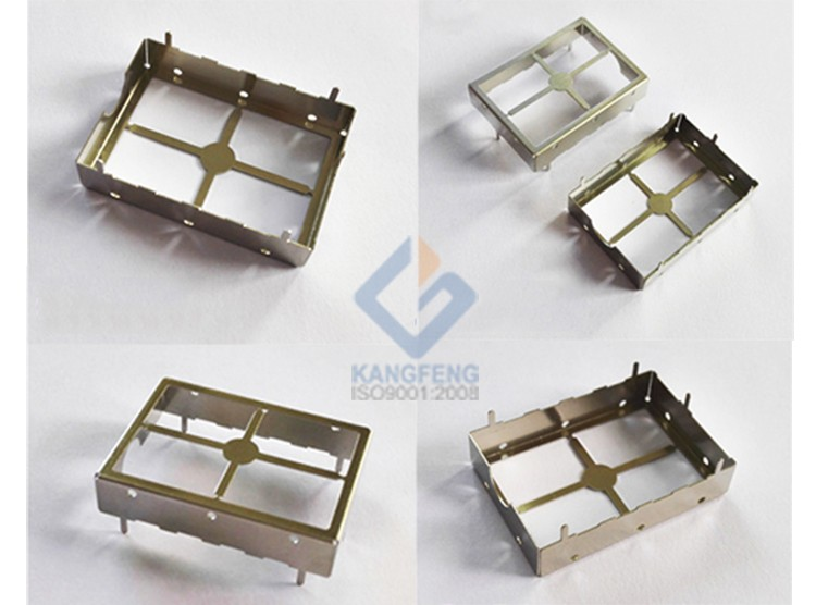 0.3mm High precision progressive die nickel silver alloy rf shielding can