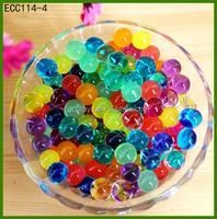 Wholesale Home Decorate Polymer Water Crystals Rainbow Water Beads