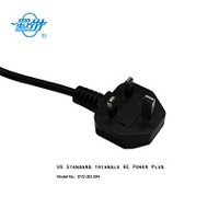 ASTA Approved UK Great Britain Heat Pump Water Heater Power Cord