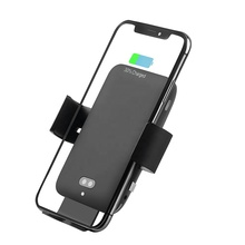 C12 Voice Control Car Wireless Charger, Infrared Sensor Wireless Car Charging Mount <strong>Phone</strong> <strong>Holder</strong>