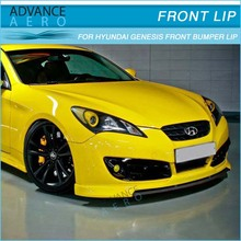 FOR 10-12 HYUNDAI GENESIS COUPE TYPE S1 STYLE PU FRONT BUMPER LIP SPOILER BODY KITS