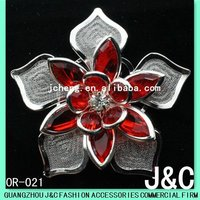 Acrylic and Rhinestone shoes buckle accessories