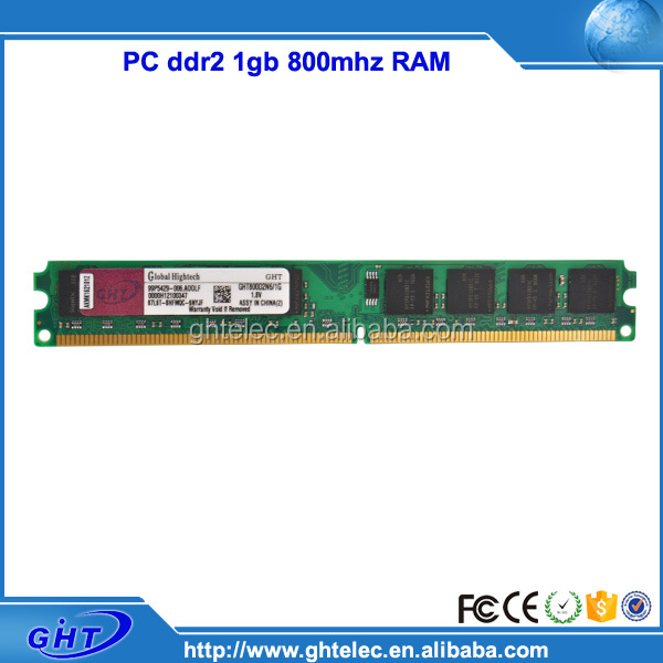 Computer manufacturing companies 64mbx8 16c ddr2 ram desktop 1gb