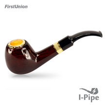 Hot sale fancy wooden smoking pipe 1300 puffs push button shisha hookah pipe