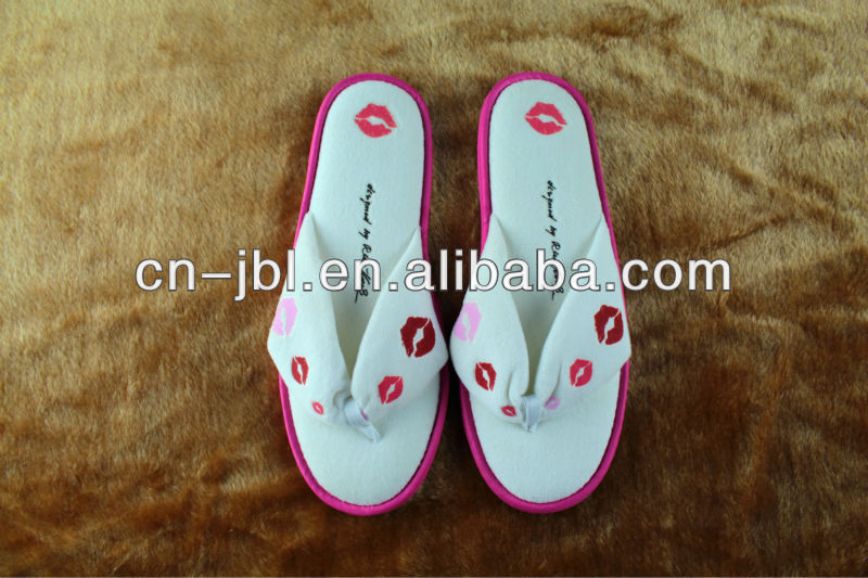 2013 women indoor flip flop Slipper