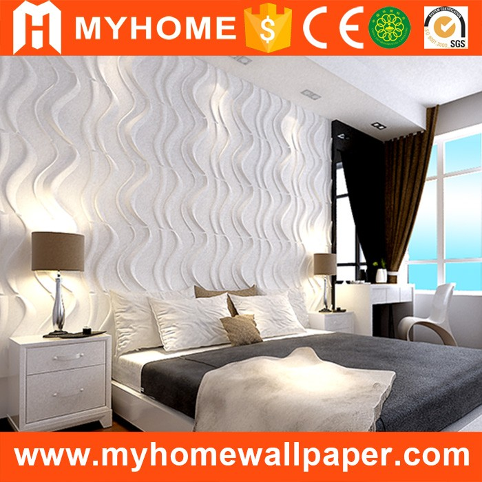 Widely used for wall art decor 3d bamboo fiber interior decor wall panel embossed